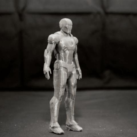 Capture d'écran 2018-04-10 à 17.21.50.png Download free STL file IRON MAN ( Mark 7 ) • 3D printable model, TheTNR