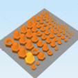 Capture d'écran 2018-04-10 à 17.02.09.png Télécharger fichier STL gratuit Écrou et boulon métriques les plus courants - M2 à M20 • Plan pour impression 3D, TheTNR
