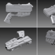 Free Warhammer 40K HANDGUN 3D printer file, TheTNR