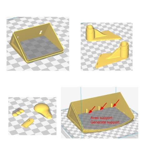 Impression.jpg Download free STL file Recycling basket • Template to 3D print, mrballeure