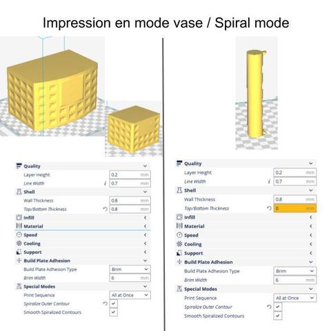 ImpressionVase.jpg Download free STL file Recycling basket • Template to 3D print, mrballeure