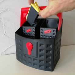 Download free 3D printing files Recycling basket, mrballeure