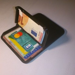 Download free 3D printer templates Credit card and identity card wallet, mrballeure