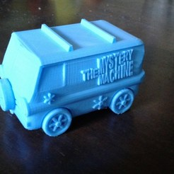 Download free 3D printing models Mystery Machine of Southern IL., brianwhitney