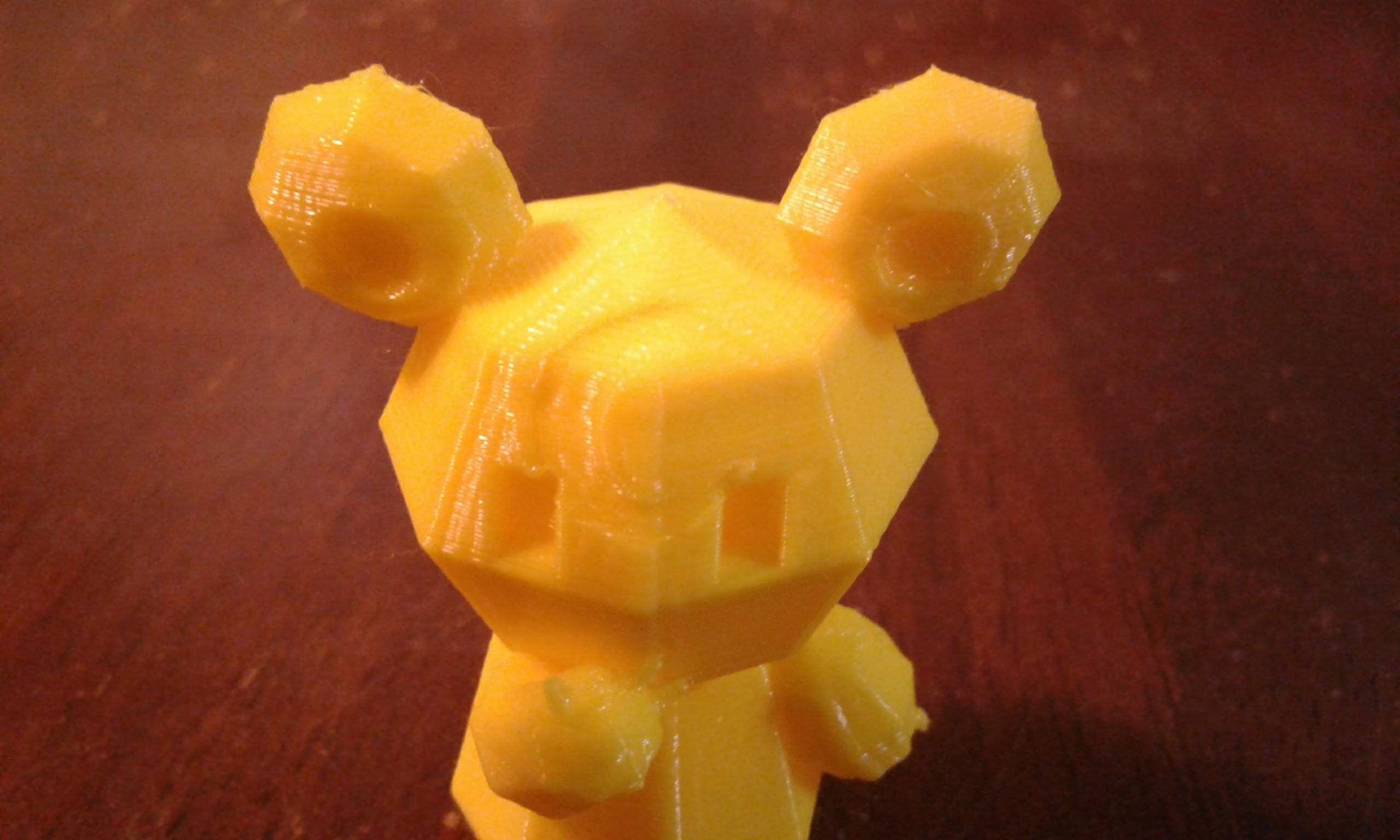 20180417_210644.jpg Download free STL file Pokemon Low Poly Teddiursa • Model to 3D print, brianwhitney