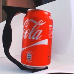 Lata de cocacola.jpg Download STL file Can Handle • Template to 3D print, 3Dreams
