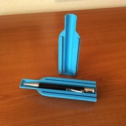 Free 3D printer designs Pen Sleeve, 3Dreams