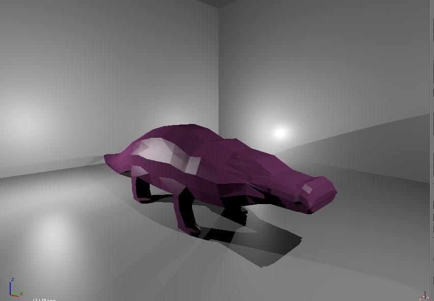 Cocodrilo 2.jpg Download free STL file Low Poly Crocodile • 3D printer design, 3Dreams
