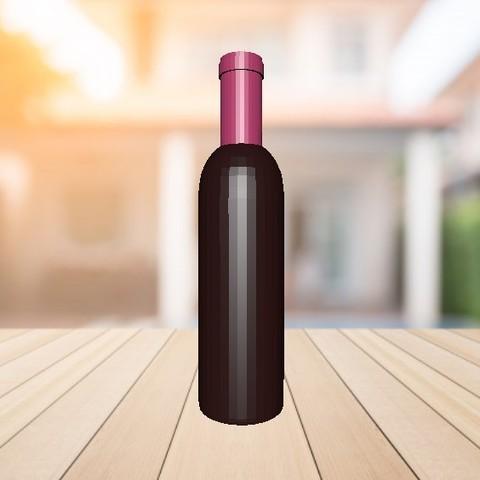 Télécharger modèle 3D gratuit Cas / bouteille de vin (mécanisme incroyable), 3Dreams