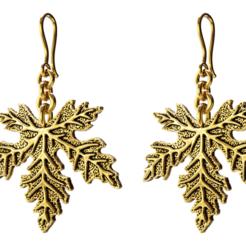 Download STL files Maple Leaf Necklace, jagshh
