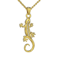 Lizard necklace_ (1).png Download STL file Lizard necklace • 3D printable design, jagshh