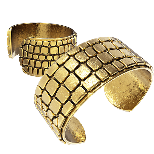 Download 3D printing models Crocodile cuff bracelet, jagshh