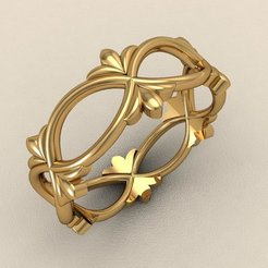 Gold Ring 3D model, jagshh