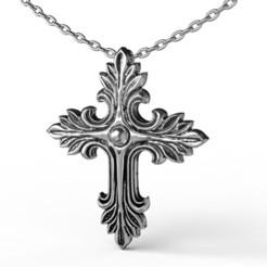 STL files Cross Necklace, jagshh
