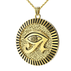 Egyptian Pendant.png Download STL file Egyptian Pendant • Object to 3D print, jagshh