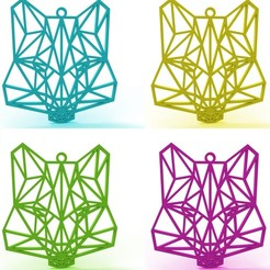 Download 3D printing files Wolf Necklace, TutoSolid