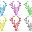 Download 3D printer designs Moose Necklace, TutoSolid