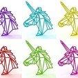 3D printer files Unicorn Necklace, TutoSolid