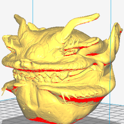 Download free 3D printer designs monster devil ball devil, ericmicek