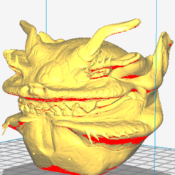 Download free 3D printer designs monster devil ball devil, ericmicek