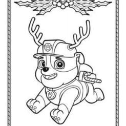 PatPaytrouilleNoelRubble.jpg Download STL file Patrol RUBBLE Noel Patrol • 3D print template, ericmicek