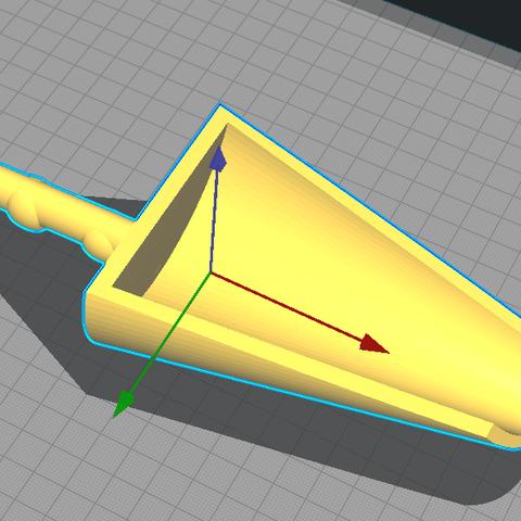 Télécharger fichier imprimante 3D gratuit pelle a pellet, ericmicek