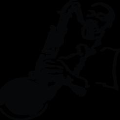 saxophone-busteface.png Download STL file saxophonist • 3D printer object, ericmicek