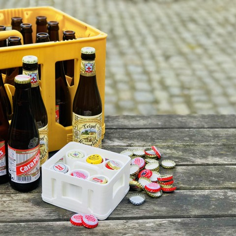 first.jpg Download free STL file beer cap organizer • 3D printable model, dennisprijs