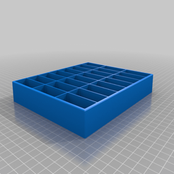 Setzkasten_Aldi_Emoji.png Télécharger fichier STL gratuit Setzkasten Aldi EMOJI - Boîte aux lettres pour EMOJI • Objet pour imprimante 3D, Knaudler