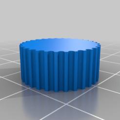 Télécharger fichier STL gratuit Essai d'une seule poulie de renvoi GT2 générée en fusion 360 • Objet pour imprimante 3D, Knaudler