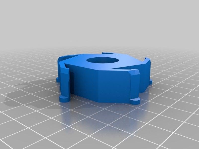 84ca3593063cc33da3833881f881c57f.png Télécharger fichier STL gratuit Adaptateur pour le centre de regroupement de Renkforce/Ikea • Plan imprimable en 3D, Knaudler