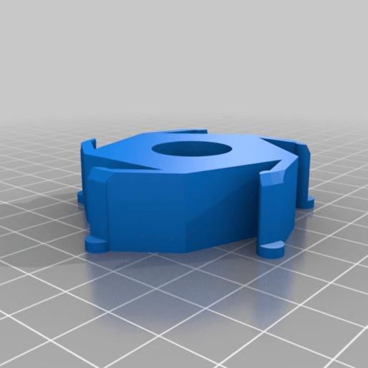 3528e4cc7352b658cce5f7adc22748d4.png Télécharger fichier STL gratuit Adaptateur pour le centre de regroupement de Renkforce/Ikea • Plan imprimable en 3D, Knaudler