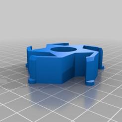 Download free 3D printer templates Renkforce/Ikea Spool Hub Adapter, Knaudler