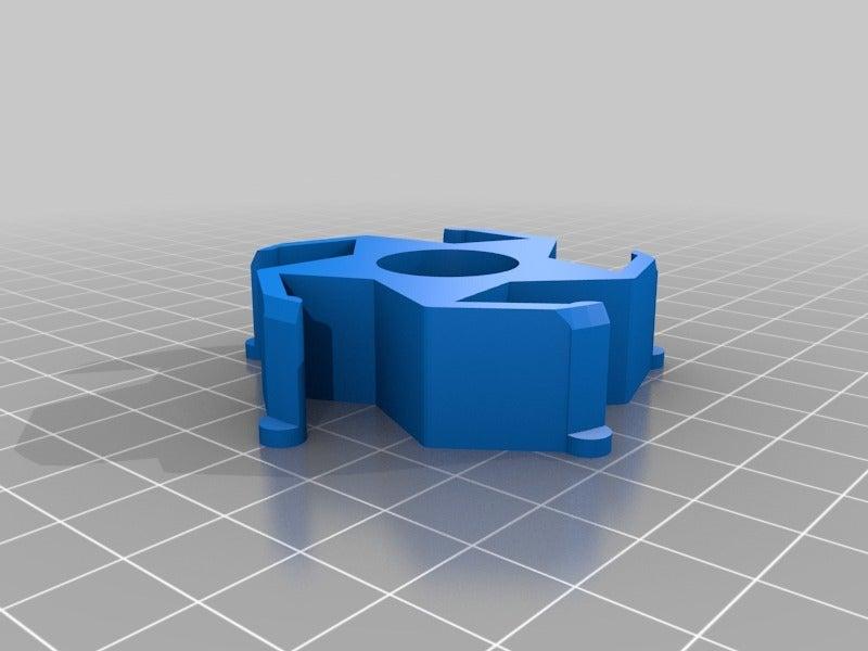 c487a6a7cddd865c9c4b8d28ed8971be.png Télécharger fichier STL gratuit Adaptateur pour le centre de regroupement de Renkforce/Ikea • Plan imprimable en 3D, Knaudler