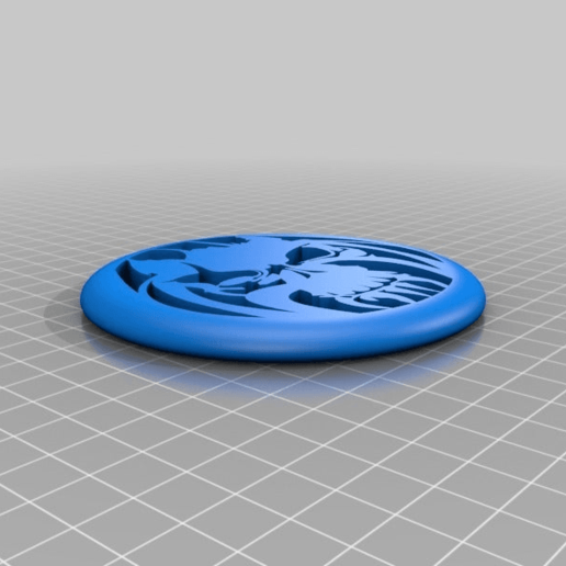 Download free STL file minidisc tete • Template to 3D print, Bureau_B