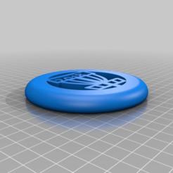 Download free STL file mini disc golf • 3D printer object, Bureau_B