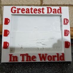 Descargar diseños 3D gratis El mejor marco de mamá y papá para mi caja de luz, gaza07
