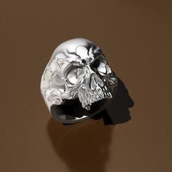 Descargar diseños 3D Anillo del cráneo, Tresordegeek