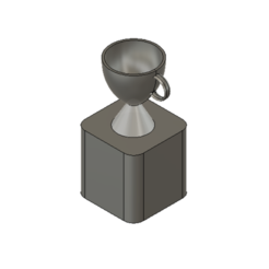 Download free 3D printer model Trophy, turnerw006