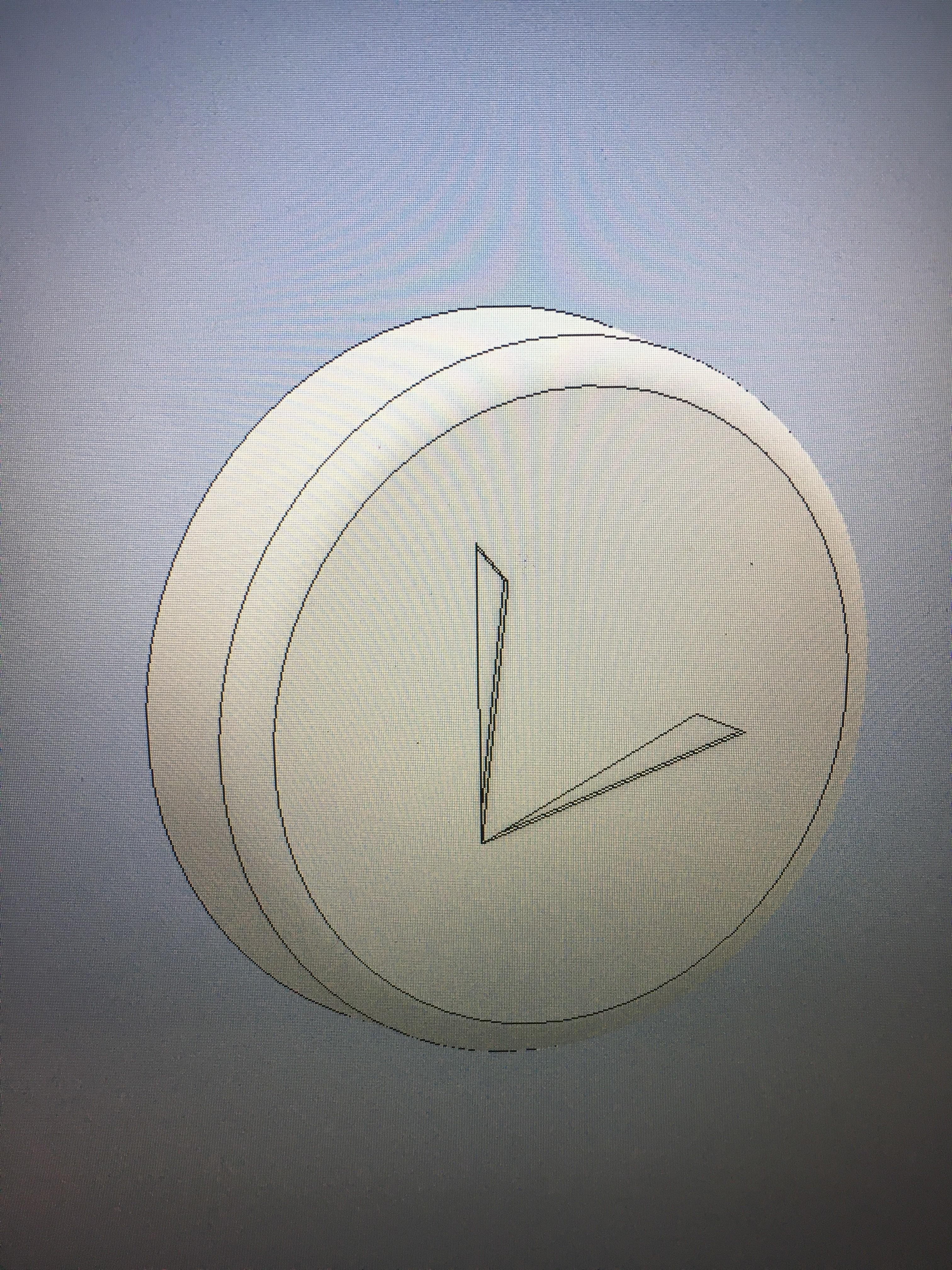 IMG_0220.JPG Download free STL file Prius Climate control knob cap • 3D print design, turnerw006