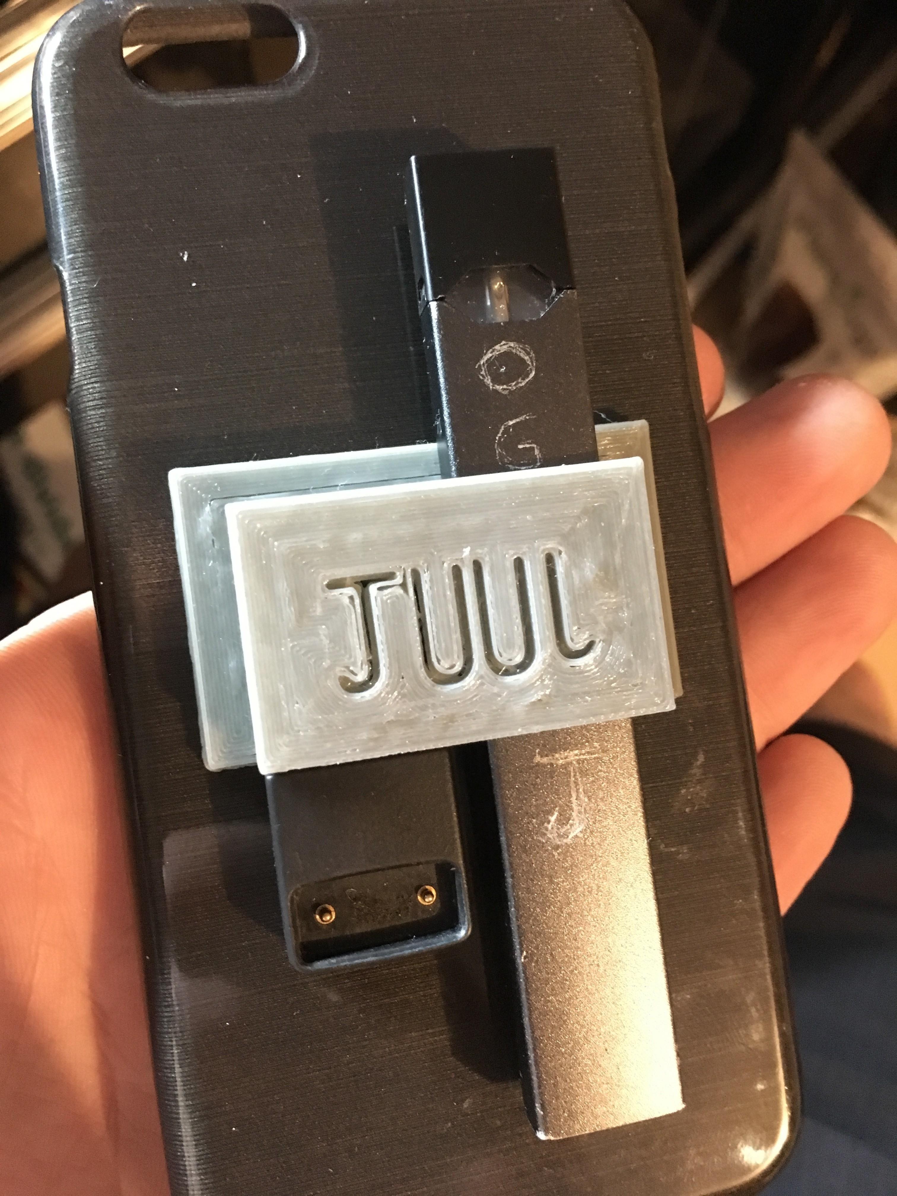 IMG_1964.JPG Download STL file JUUL holder • 3D print template, turnerw006