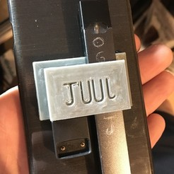 3d print files JUUL holder, turnerw006