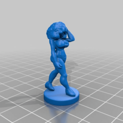 6c6d702ac1601e7032fc63491869fc16.png Télécharger fichier STL gratuit Walkin Girl avec un remix afro à l'échelle 32mm • Modèle pour imprimante 3D, Rob_Jedi