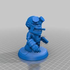a7735a8052557cd7d579722afc45edb4.png Download free STL file Hellboy Chibi Miniature • Model to 3D print, Rob_Jedi