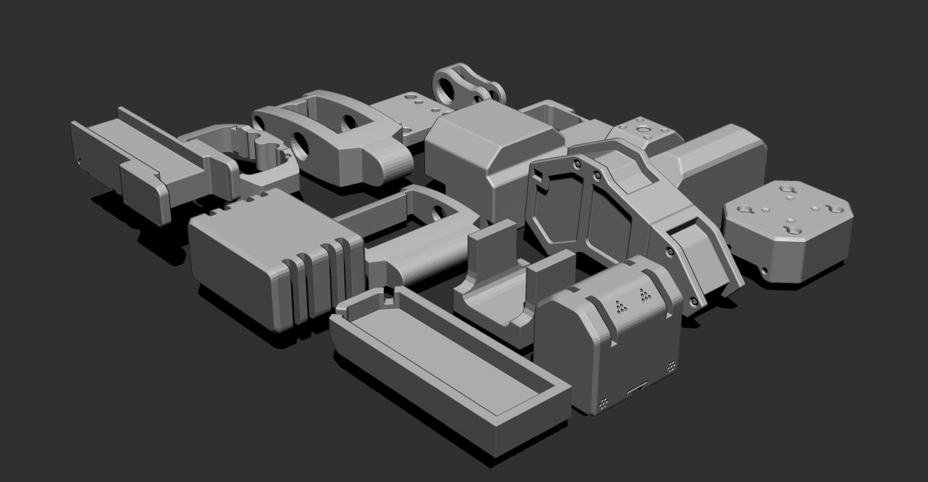 2.png Download free STL file Basic Kit-Bash Vol2 • Model to 3D print, Dekro