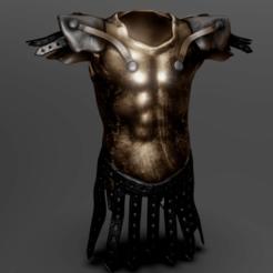 Impresiones 3D Placa de pecho romana, Dekro