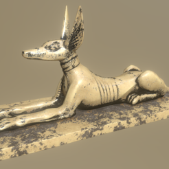 jackal.png Download STL file Jackal • 3D printing model, Dekro