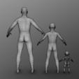 Descargar archivos 3D Paquete Simple Humano, Dekro