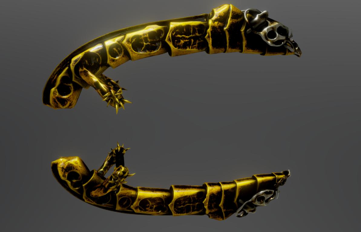 Screenshot_2.png Download STL file Golden Daggers • Template to 3D print, Dekro
