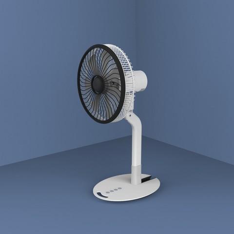ff.3222.jpg Download STL file Folding Table Fan • 3D printer object, Dekro